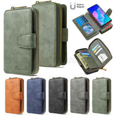 For Samsung Galaxy Note 10 Pro S10 Lite 2020 Magnetic Leather Wallet Case Cover