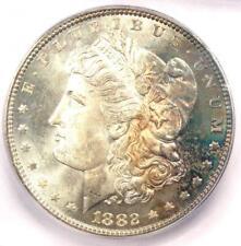 1882 Morgan Silver Dollar $1 Coin 1882-P. ICG MS66 - Rare in MS66 - $1250 Value!