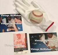 HANK AARON Signed Baseball NL Ball w/ PROOF Atlanta Braves Autograph PSA/DNA g