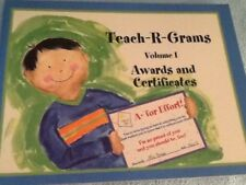 Teach-R-Grams Volume II Awards and Certificates