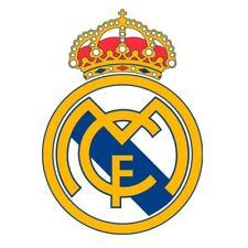 STICKER REAL MADRID CAR BUMPER DECAL SPAIN PRIMERA DIVISION NEW SMALL ROUND TOP
