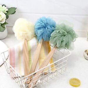 Shower Back Brush Body Mesh Sponge Spa Exfoliate Scrubber Soft Skin Washer AA