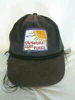 VINTAGE 80S CALIFORNIA STATE PARKS BASEBALL HAT CAP ADULT ONE SIZE SNAPBACK VTG
