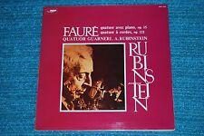 RUBINSTEIN Faure GUARNERI QUARTET French GF LP NM