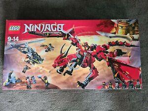 NEW SEALED LEGO NINJAGO 70653 FIRSTBOURNE DRAGON FREE SHIPPING