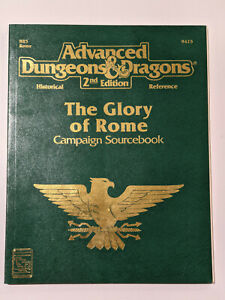 Advanced Dungeons & Dragons AD&D 2e The Glory of Rome campaign sourcebook HR5