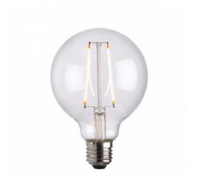 Endon Lighting 77108 E27 LED Filament Globe 95mm Dia 2W Warm White lamp