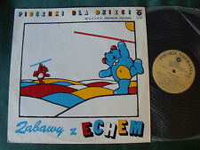 ZBIGNIEW CIECHAN : ZABAWY Z ECHEM - LP 1986 Polish POLSKIE NAGRANIA SX 2060