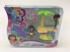Dora & Pablo Beachtime Friends Figure Set Fisher Price Nickelodeon 2015