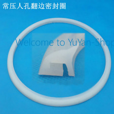 1pc DN350 food machinery socket seal manhole silicone rubber gasket #R552 DF