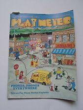 coin-op Amusements february 15 1985 Play Meter MAGAZINE  phones,phones