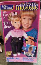 "Full House Michelle Talking Doll 14"" Mary Kate Ashley Olsen TESTED Vintage 1991"