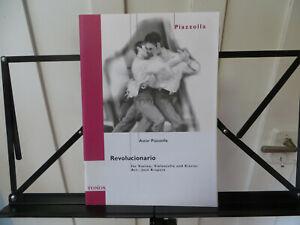 Noten, Klaviertrio, REVOLUCIONARIO, Astor Piazzolla