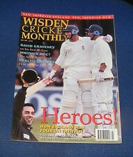 WISDEN CRICKET MONTHLY JULY 1997 - HEROES! HOW ENGLAND WON FOUR ON THE TROT