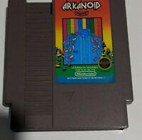 ARKANOID Nintendo Nes Game Tested