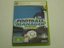 XBOX 360 GAME FOOTBALL MANAGER 2006