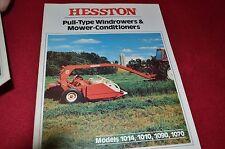Hesston 1010 1014 1070 1090 Mower Haybine Dealer's Brochure HW-3-379 LCOH