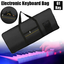 61 Key Electronic Piano Instrument Keyboard Bag Thickened Case Shoulder Backpack