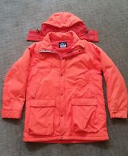 Woolrich Mens Blaze Orange Hunting Jacket Size Large