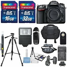 Nikon D7100 24.1MP Digital DSLR Camera & along with a Total of 48 GB SDHC and...