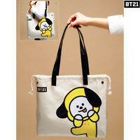 BTS BT21 Official Authentic Goods PVC Shoulder Bag Tote Bag 7Characters