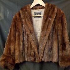 Beautiful Danahy Buffalo Mid Century Genuine Fur Coat