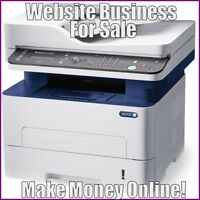 LASER PRINTERS Website Earn $549.40 A SALE|FREE Domain|FREE Hosting|FREE Traffic