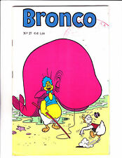 "Bronco No 27 1960's  -Brazilian Baby Huey- ""Fishing / Whale Cover ! """