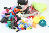 LARGE Lot of Shoes Boots and Other Accessories For Dolls Barbie