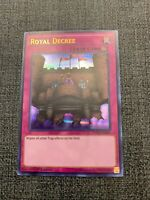 YuGiOh - Royal Decree - DUSA-EN047 - Ultra Rare - 1st Edition - NM/M