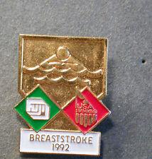 pin Olympia 1992 TEAM USA breaststroke brustschwimmen (an2450)