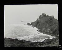Glass Magic Lantern Slide GURNARDS HEAD C1910 CORNWALL