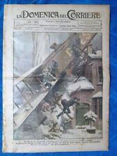 La Domenica del Corriere 26 dicembre 1920 Parigi-Londra - D.Sasso - G.Ugolini