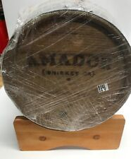 Amador Whiskey Wooden Mini Barrel Keg with stand Awesome Decor and Home Brew