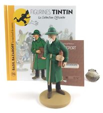 Collection officielle figurine Tintin Moulinsart 76 Basil Bazaroff le marchand