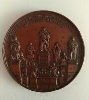 Médaille Dévoilement Mémorial de Martin  LUTHER à WORMS, Allemagne, 1868