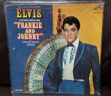 Elvis Presley Soundtrack Frankie & Johnnie Vinyl LP RCA victor LPM 3553 VG+