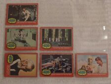 TOPPS STAR WARS (RED) CARDS - YEAR 1977 ** PICK THE ONE YOU NEED - MOST NUMBERS