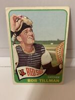 1965 Topps Bob Tillman #222 Boston Red Sox ⚾️Baseball Card (Nice Centering) EX