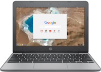 "🔥2021 HP 11.6"" HD Chromebook Intel Celeron N3060/4G/16GB/Webcam 2 Year Warranty"