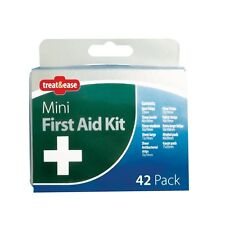 42 Piece Emergency First Aid Kit Car Holiday Home Office Camping Travel Size