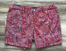 Size 12 New BANDOLINO Women's Modern Fit Slimming Tummy Flawless Stretch Shorts