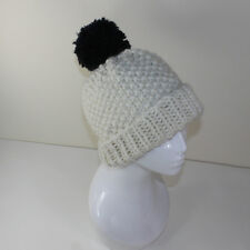 PRINTED INSTRUCTIONS-EXTRA ROOMY SUPER CHUNKY BOBBLE BEANIE HAT KNITTING PATTERN