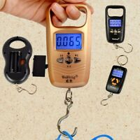Portable 50kg Hanging LCD Digital Luggage Electronic Hook Pocket Scale