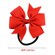 20 X Baby Girls Hairband Toddler Hair Bow Band Grosgrain Ribbon Accessories OQ