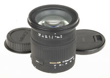 Sigma 17-70mm f/2.8-4.5 DC MACRO lens for Canon +caps | very good condition