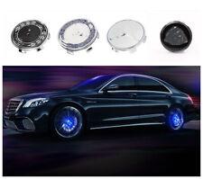 Floating LED Illuminated Wheel Caps Lighting Center Cover For Mercedes Benz 75mm