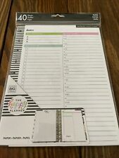 New The Happy Planner Classic Project Note Paper 40 Sheets