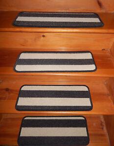 14 Step  9'' x 30'' + 1 Landing 30'' x 30''  Tufted carpet Wool Stair Treads