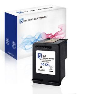 TINTE PATRONEN für HP 301 XL Schwarz DESKJET 1000 1010 1510 Envy 4506 4506